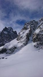 Couloir Dewèze - Pic Coolidge